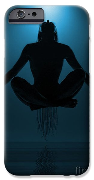 Magician iPhone 6s Case - Reaching Nirvana.. by Nina Stavlund