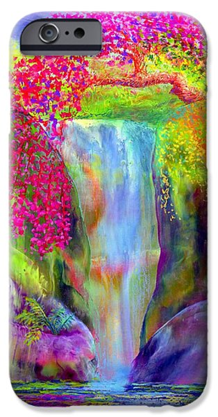 Waterfall And White Peacock, Redbud Falls IPhone 6s Case