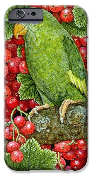 Redcurrant Parakeet IPhone 6s Case