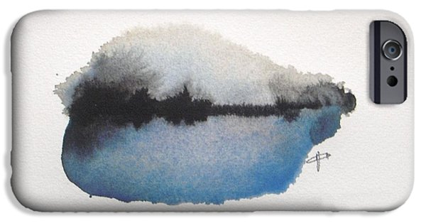 Abstract iPhone 6s Case - Reflection In The Lake by Vesna Antic