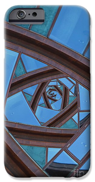 IPhone 6s Case featuring the photograph Revolving Blues. by Clare Bambers