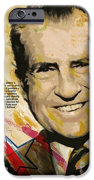 Richard Nixon IPhone 6s Case by Corporate Art Task Force
