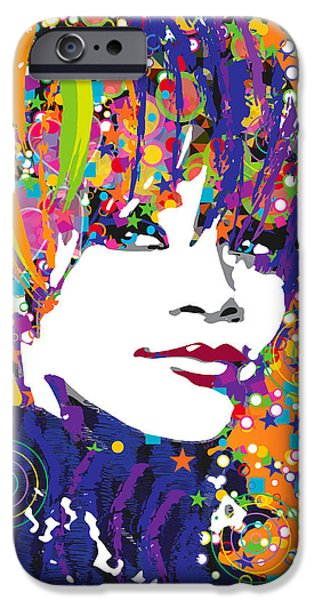 Rihanna In Blue IPhone 6s Case by Irina Effa