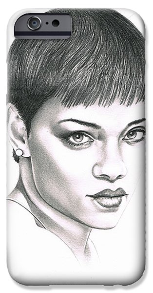 Rihanna IPhone 6s Case by Murphy Elliott