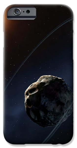 Ringed Asteroid Chariklo IPhone 6s Case by Mark Garlick