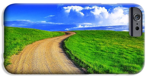 Rural Scenes iPhone 6s Case - Road To Heaven by Kadek Susanto