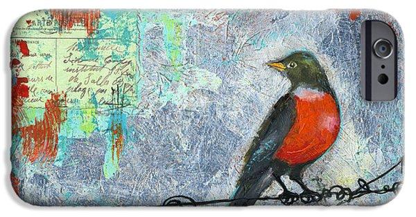 Robin Love Letter  IPhone 6s Case by Blenda Studio