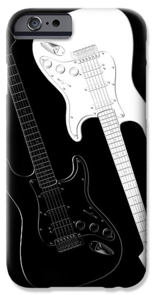 Music iPhone 6s Case - Rock And Roll Yin Yang by Mike McGlothlen