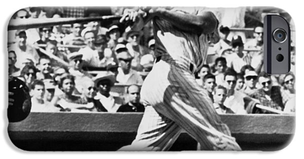 Yankee Stadium iPhone 6s Case - Roger Maris Hits 52nd Home Run by Underwood Archives