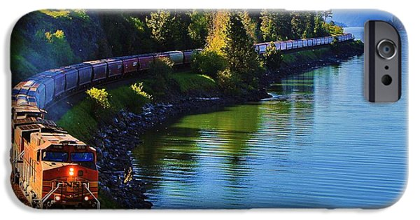 Train iPhone 6s Case - Rollin' Round The Bend by Benjamin Yeager