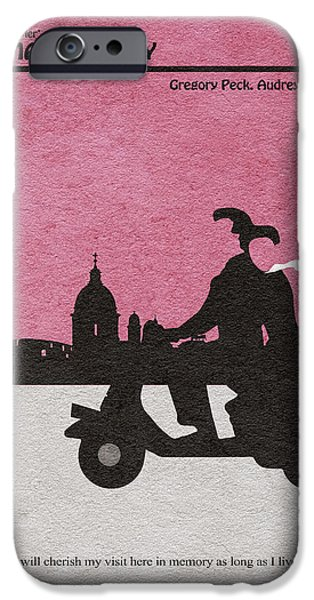 Audrey Hepburn iPhone 6s Case - Roman Holiday by Inspirowl Design