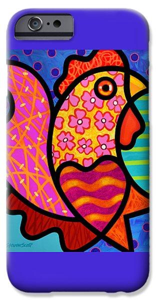 Rooster Dance IPhone 6s Case by Steven Scott