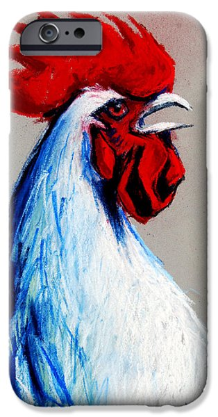 Rooster Head IPhone 6s Case by Mona Edulesco