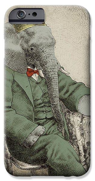 Animals iPhone 6s Case - Royal Portrait by Eric Fan