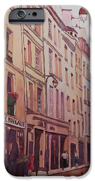 Rue Galande IPhone Case by Jenny Armitage
