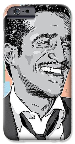 Sammy Davis Jr Pop Art IPhone 6s Case by Jim Zahniser