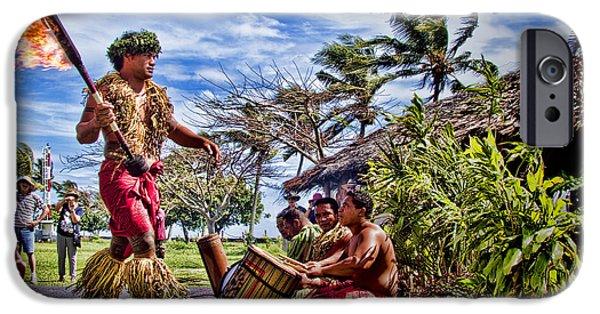 Cruise Ship iPhone 6s Case - Samoan Torch Bearer by David Smith