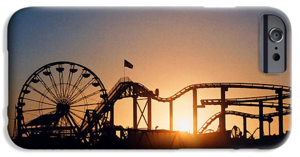 Santa Monica iPhone 6s Case - Santa Monica Pier by Art Block Collections