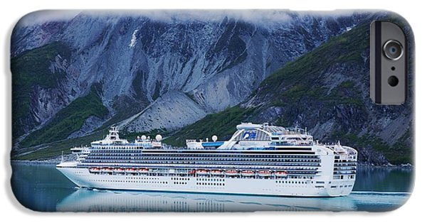 Cruise Ship iPhone 6s Case - Sapphire Princess In Alaska by Marcus Dagan