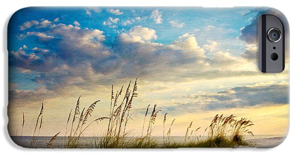 Beach iPhone 6s Case - Sea Oats Sunset by Joan McCool