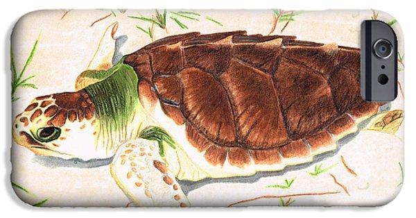 Sea Turtle Art By Sharon Cummings IPhone 6s Case by Sharon Cummings