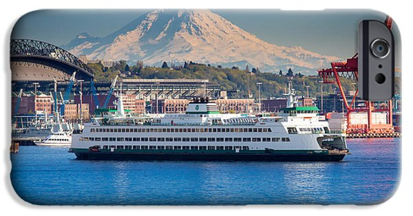 Seattle Harbor IPhone 6s Case by Inge Johnsson