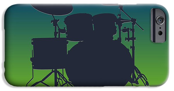 Seattle Seahawks Drum Set IPhone 6s Case by Joe Hamilton
