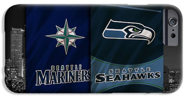 Seattle Sports Teams IPhone 6s Case by Joe Hamilton