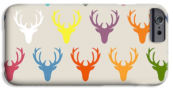 Seaview Simple Deer Heads IPhone 6s Case by Sharon Turner