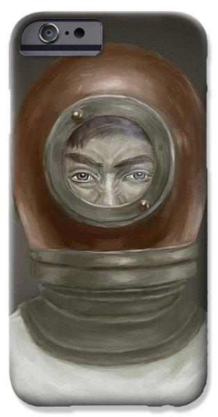 iPhone 6s Case - Self Portrait by Balazs Solti