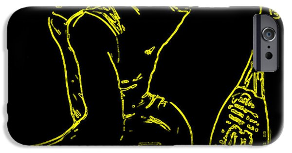 Venus Williams iPhone 6s Case - Serena Glowing Catsuit by Brian Reaves
