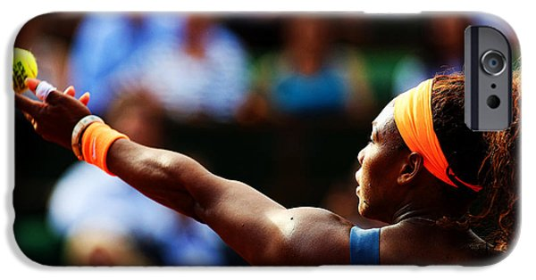 Serena Williams iPhone 6s Case - Serena Williams by Srdjan Petrovic