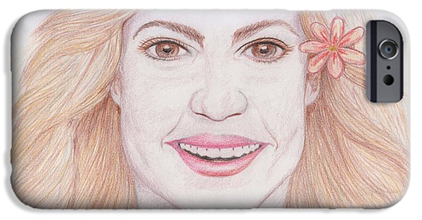 Shakira IPhone 6s Case by M Valeriano