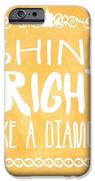 Shine Bright Orange IPhone 6s Case by Pati Photography
