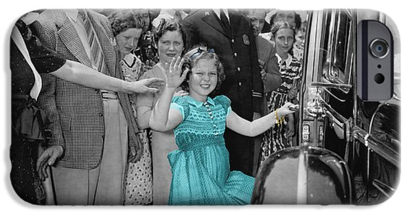 Shirley Temple iPhone 6s Case - Shirley Temple by Andrew Fare