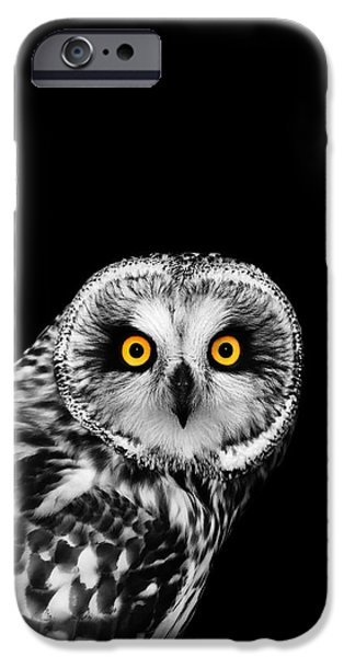 Animals iPhone 6s Case - Short-eared Owl by Mark Rogan