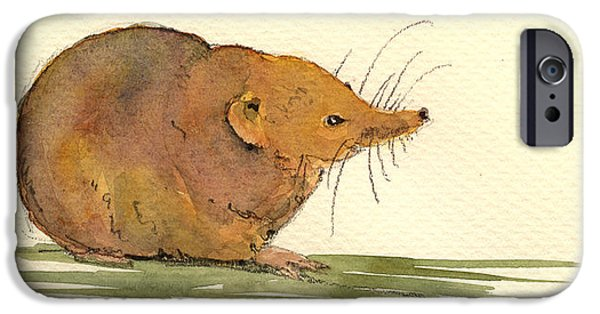 Shrew IPhone 6s Case by Juan  Bosco