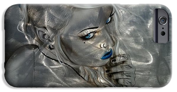Contemporary Realism iPhone 6s Case - Silver Flight by Christian Chapman Art