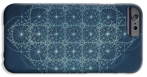 Fractal iPhone 6s Case - Sine Cosine And Tangent Waves by Jason Padgett