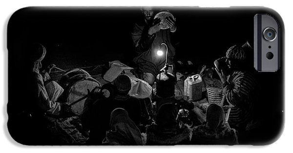 Drum iPhone 6s Case - Singing To The Night by Angel Bernaldo De