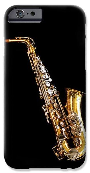 Single Saxophone Against Black IPhone 6s Case