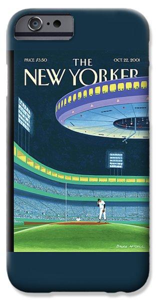Yankee Stadium iPhone 6s Case - Sky Box by Bruce McCall