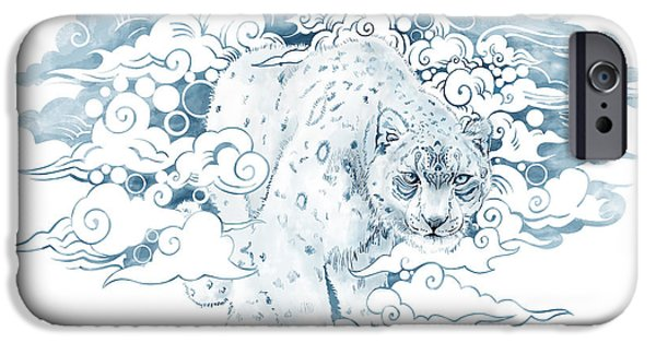 Leopard iPhone 6s Case - Ghost Cat by Sassan Filsoof