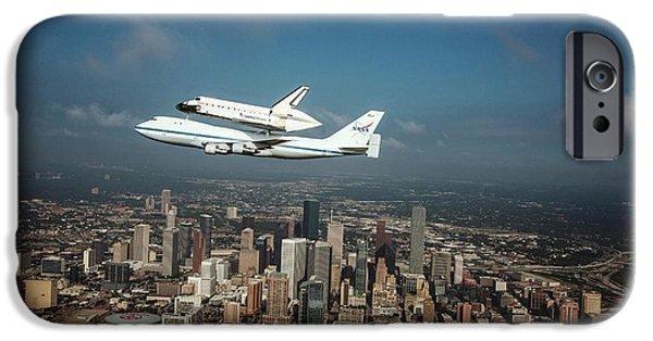 Space Shuttle Endeavour Piggyback Flight IPhone 6s Case by Nasa/sheri Locke