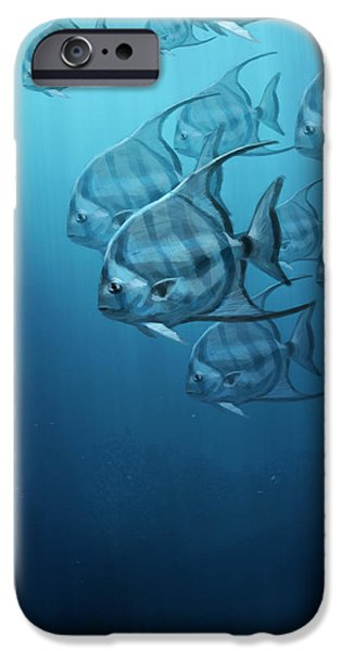 Spade Fish IPhone 6s Case by Aaron Blaise