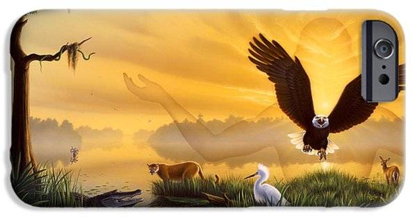 Eagle iPhone 6s Case - Spirit Of The Everglades by Jerry LoFaro