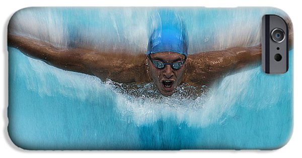Swimming iPhone 6s Case - Splash by Milan Malovrh