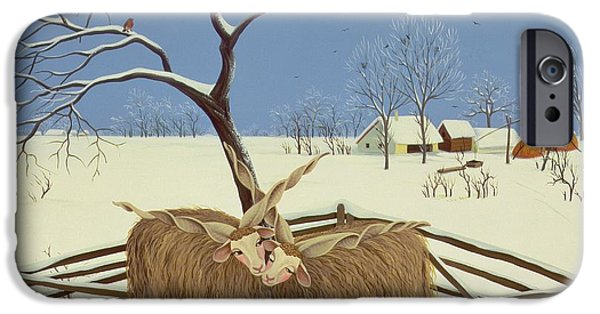 Yak iPhone 6s Case - Spring In Winter by Magdolna Ban
