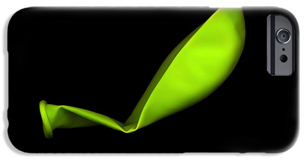 Square Lime Green Balloon IPhone 6s Case by Julian Cook