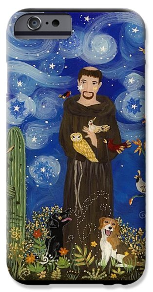 St. Francis Starry Night IPhone 6s Case